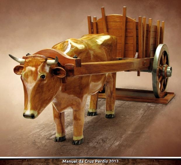 vaca carroça